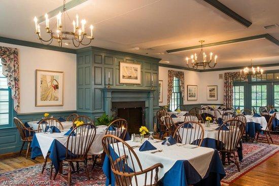 "The Inn at Osprey Point: Osprey Point Restaurant's Main Dining Room, ""The Hunt Room"""