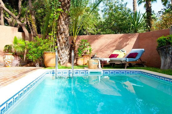 Dar Ayniwen Villa Hotel: Pool Suite Rotonde