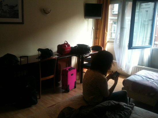 Hotel Albert: vista camera tripla