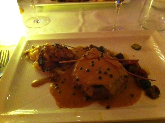 Gargantua: Filet de Boeuf au poivre