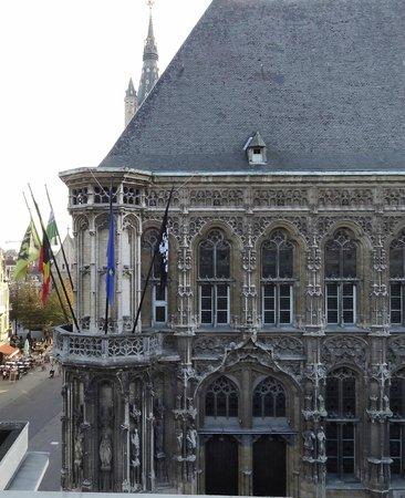 NH Gent Belfort: uitzicht bovenste etage