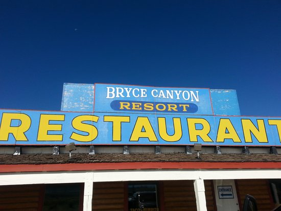 Cowboy Ranch House at Bryce Canyon Resort: ingresso ristorante
