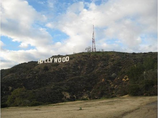 Lake Hollywood Park : End point of the trail