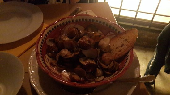 "Il Vico del Carmine : ""Soup"" with clams"