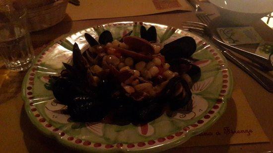 Il Vico del Carmine : Gnocchi with clams