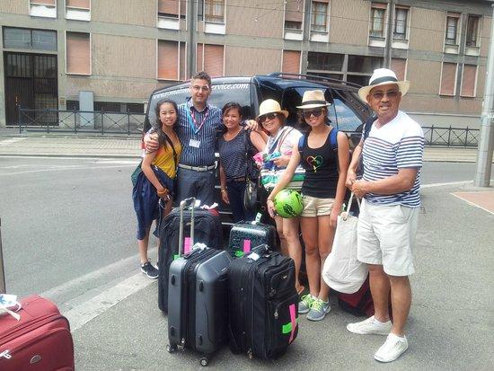 Roma Limousine Car Service - Tour: Arcenal Family