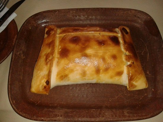 Pomaire, Chile: Empanada de pino de un kilo