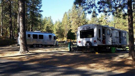 Leavenworth / Pine Village KOA: Sites 37 & 38
