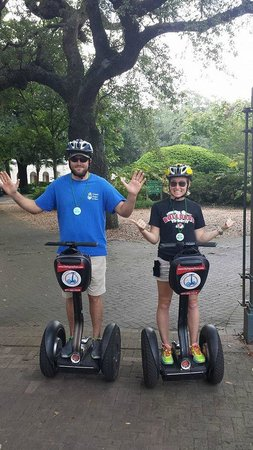 City Segway Tours New Orleans: Look Mom, no hands!