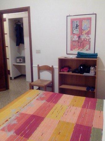 Hotel Ariston : quarto