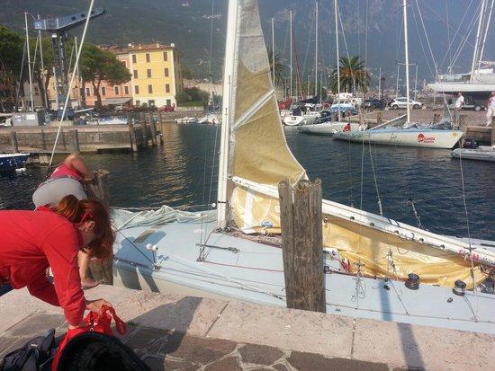 Est Garda - Vela Etica: Barca