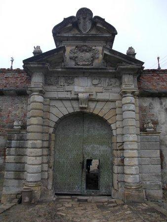 Pidhirtsi Castle: Portone di accesso