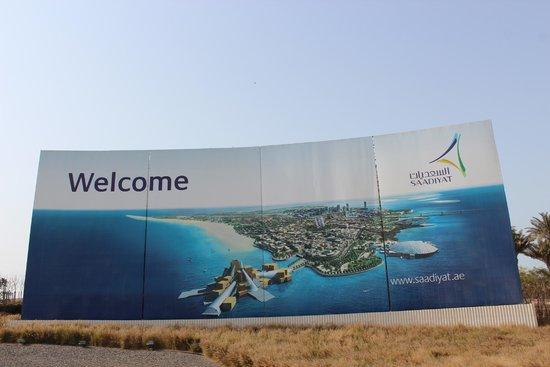 Manarat al Saadiyat: A ilha