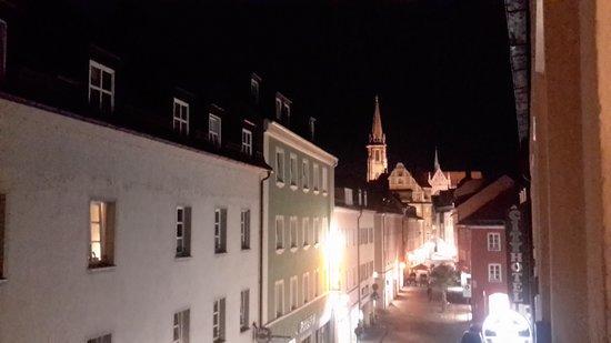 Hotel Zum Frohlichen Turken: view from the room