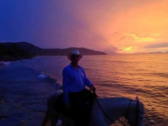 Equus Rides: Sunset with Cowboy Steve at Cane Bay