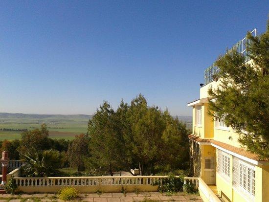 Le Kef, Tunisia: vue de la chambre