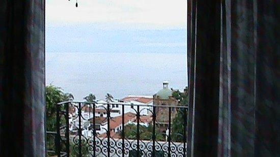 Hotel Suites la Siesta: вид с балкона номера