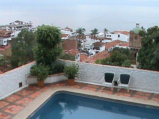 Hotel Suites la Siesta: вид с балкона