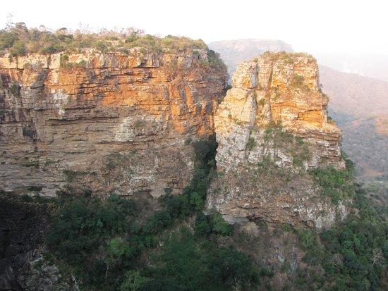 Oribi Gorge Nature Reserve: The view from  Suspension bridge