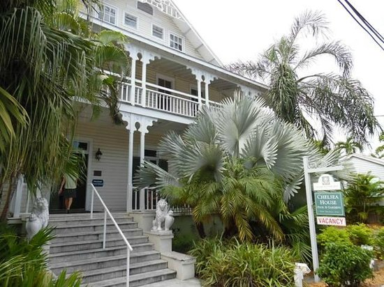 Chelsea House Hotel in Key West: Residencia historica