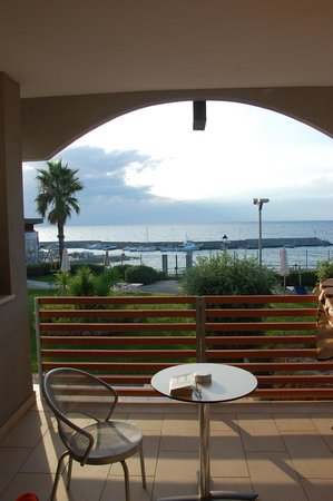 Hotel Mareluna: From a sea view balcony