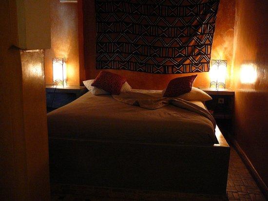 Riad Bamileke : bedroom