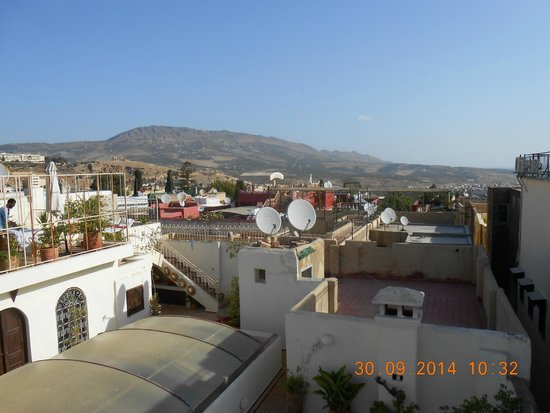 Riad Dar Cordoba : il terrazzo