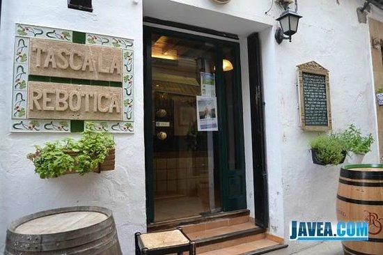 La Tasca Rebotica: Eingang