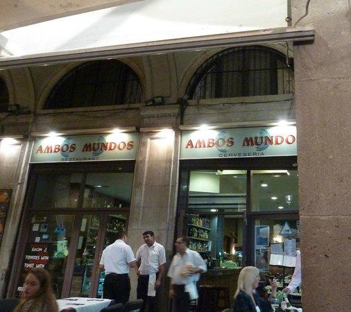 Restaurante Ambos Mundos : Store front