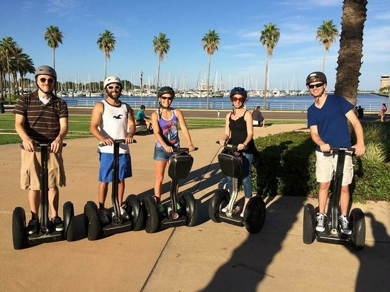 St. Petersburg Segway Tours: Segway Experience with Friends