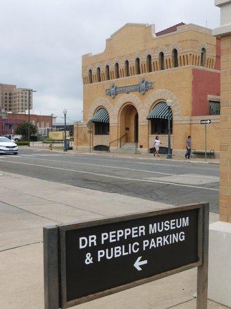 Dr Pepper Museum: Boutique décevante !