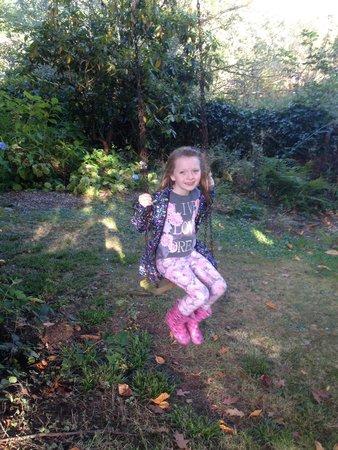 Harmony Hill Country House: Garden fun