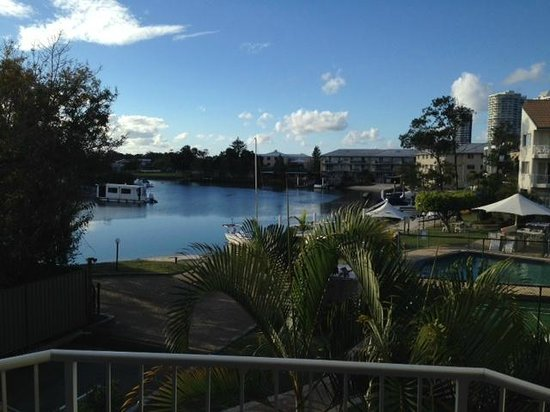 Pelican Cove Apartments: Overlooking the canal/bay