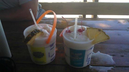 Rhythms at Rainbow Beach: Bucket of Pina Coladas!