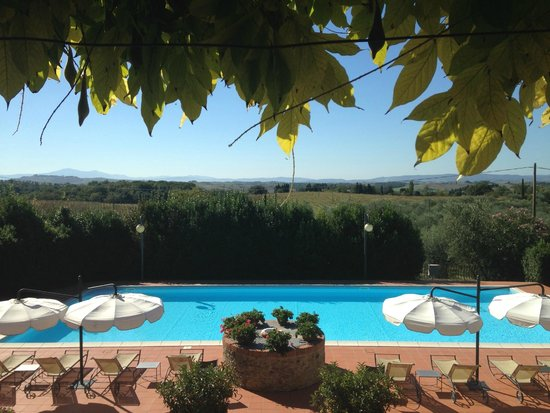 Villa Curina Resort : View from little hidden terrace