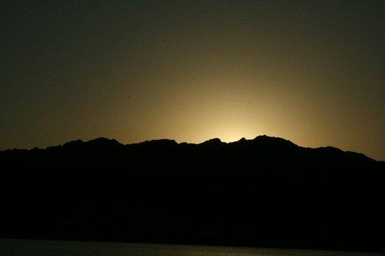 Shams Hotel: Sunset
