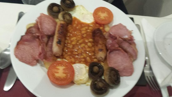 The Causeway Guest House: Large breakfast.