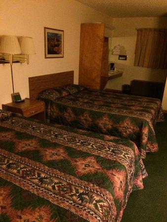 Dollar Inn Hot Springs: My room for the night