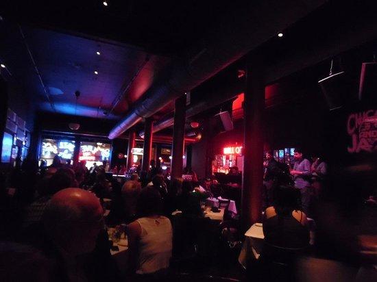 Andy's Jazz Club : Vista interior