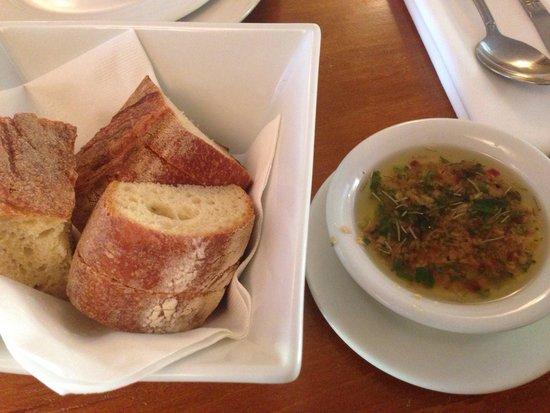 Trattoria La Siciliana : Yummy dip!!!