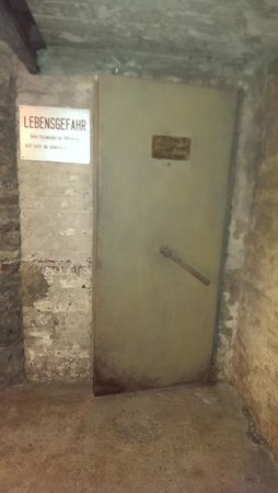 NS-Dokumentationszentrum: The entrance to one of the cells.