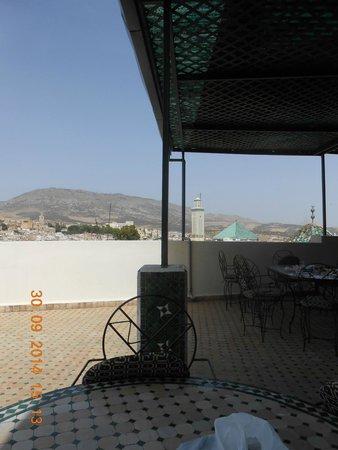 Restaurant La Medina : il terrazzo