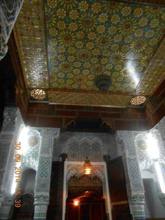 Restaurant La Medina : Il soffitto di una sala da pranzo