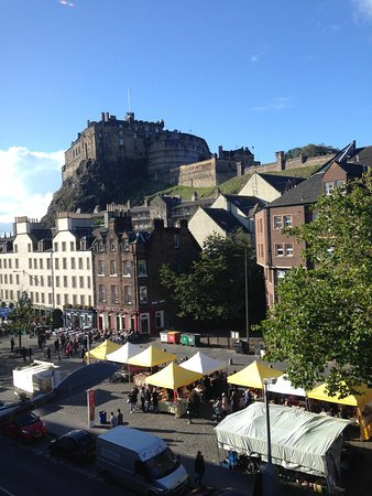 Apex City of Edinburgh Hotel: Room with a view!
