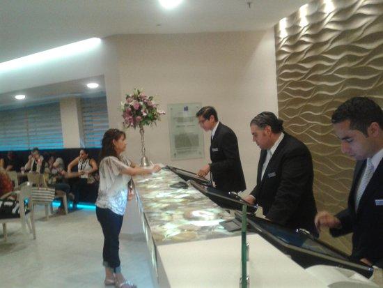 Grand Hotel Tijuana: New Front Desk Area