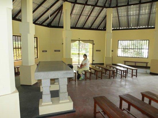 Kandy Garrison Cemetery: The Chapel..!