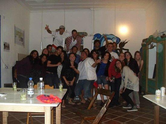 Paraty Central Hostel : festa!