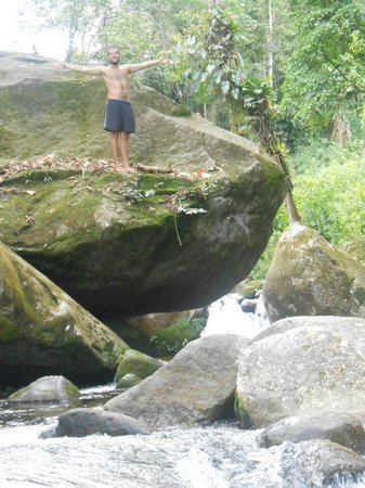 Paraty Central Hostel : cachoeira!