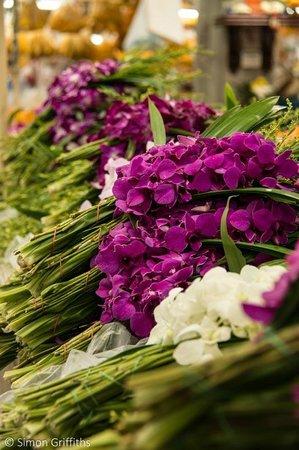 Pak Khlong Talat (Flower Market): Flower market