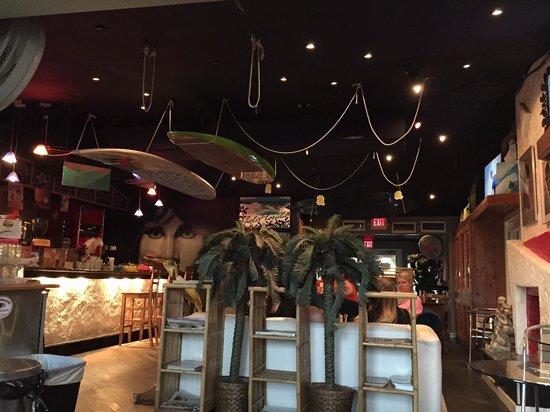 LeLu Coffee Lounge: Interior of the coffee shop.